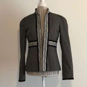 Nanette Lepore Anthro steampunk Victorian jacket